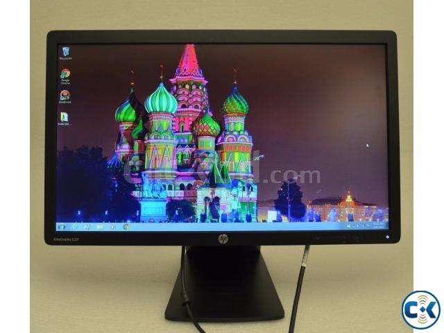 HP EliteDisplay E221i 22 IPS LED Monitor with Displayport | ClickBD large image 0