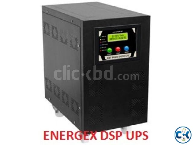 ENERGEX DSP SINEWAVE UPS IPS 2KVA WITH BATTERY 5yrs War. | ClickBD large image 0