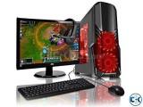 GAMING PC i5 3rd GEN 4GB 320GB 17 LED