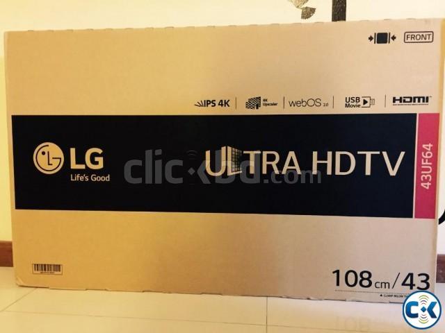 LG UF640T 49 IPS Panel Triple XD Engine Smart 4K TV | ClickBD