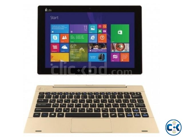 i-Life ZEDBOOK W 2in1 Notebook Tablet PC | ClickBD large image 0
