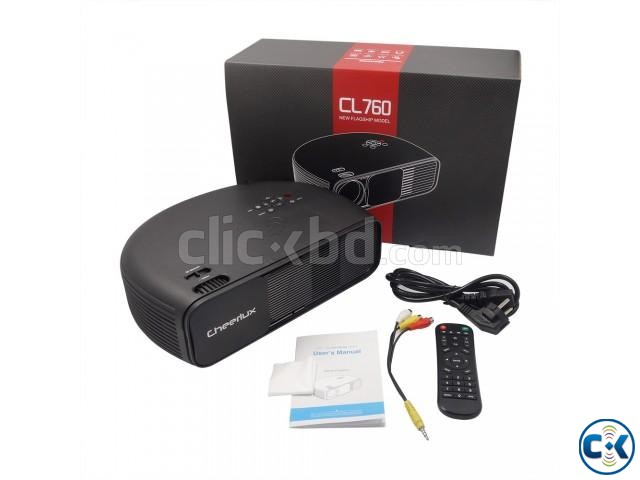 CL760 3200Lumens Projector Sell Offer | ClickBD large image 0