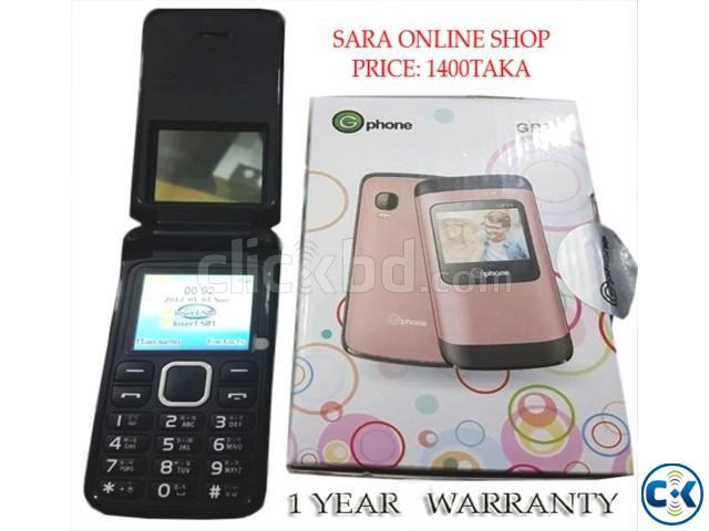 G phone Gp24 Original Dual Sim Card 1 Year Warranty | ClickBD large image 0