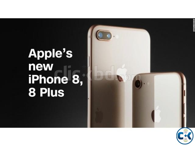 Brand New Apple iphone 8 64GB Sealed Pack 1 Yr Warranty | ClickBD large image 0