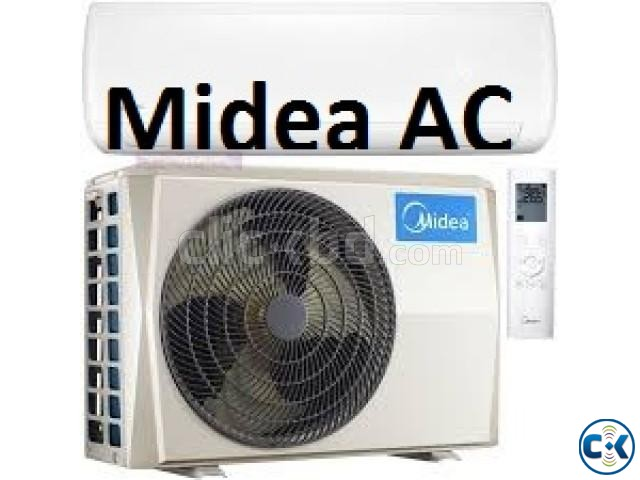 Original Brand Midea AC 1.5 Ton Split Type With Warrenty | ClickBD large image 1