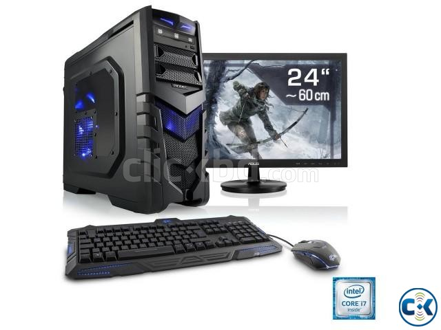 Gaming PC_ 2nd gen i5 8Gb 1Tb 19 Led | ClickBD large image 4