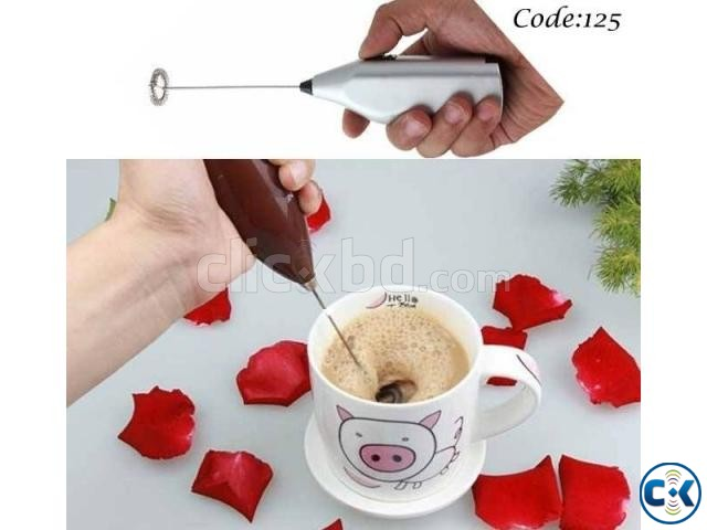 Drink Frother for Foamy Coffee Milk Juice mixer | ClickBD large image 0