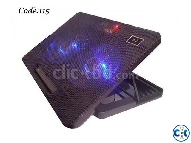 A2 Laptop Cooling Pad | ClickBD large image 0