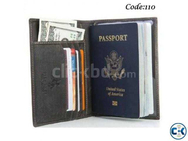 Money Bag Passport Holder Card Holder 3 in 1  | ClickBD large image 0
