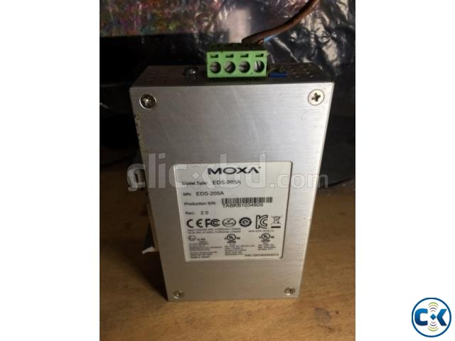 moxa 5 port switch | ClickBD large image 0