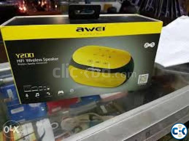 NEW SMALL Awei Y200 Wireless Bluetooth Speaker Now enjoy m | ClickBD large image 0