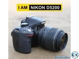 Nikon D5200 Dslr Camera with 18-55 mm Lens