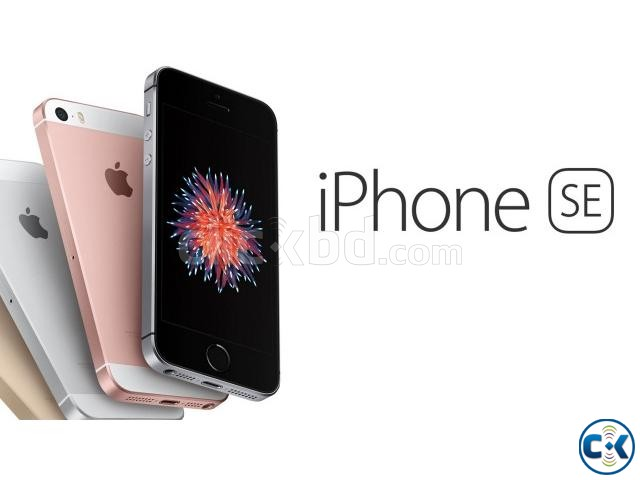 Brand New Apple iphone SE 16GB Sealed Pack 1 Yr Warranty | ClickBD large image 0