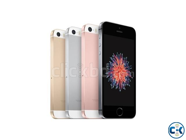 Brand New Apple iphone SE 16GB Sealed Pack 1 Yr Warranty | ClickBD large image 1