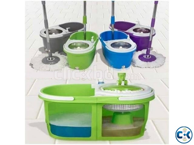 High Quality Floor Cleaner With Steel Spin Head multicolour | ClickBD large image 0
