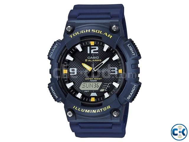 Original Casio Tough Solar Dual Time Watch AQ-S810W-2AV | ClickBD large image 0