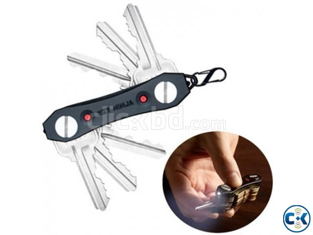 Key Ninja Multi-Tool Key Holder with Torch | ClickBD large image 0