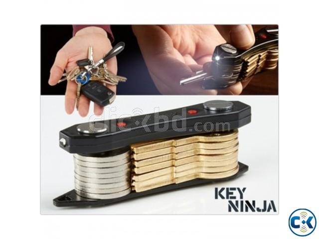 Key Ninja Multi-Tool Key Holder with Torch | ClickBD large image 2