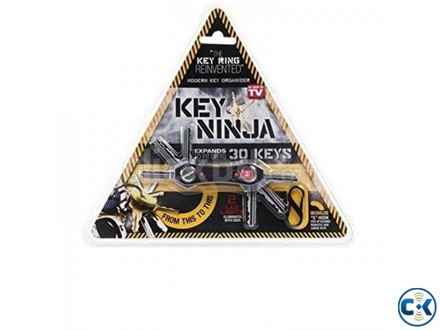 Key Ninja Multi-Tool Key Holder with Torch | ClickBD large image 3