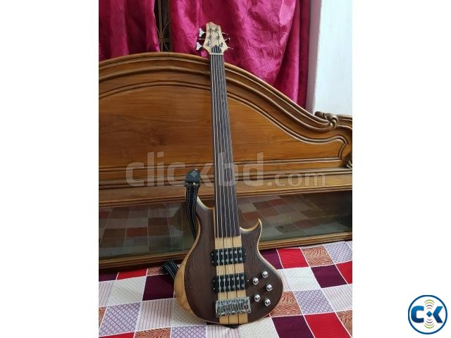 Guson 6 strings fretless bass | ClickBD large image 0