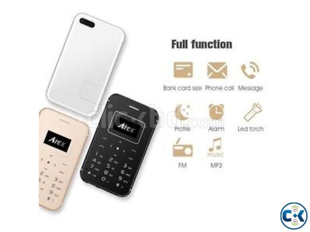 Aiek x8 Card Phone | ClickBD large image 0