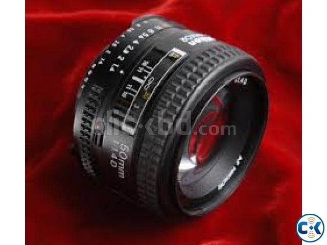 Canon EF 50mm f 1.8 Stepping Motor High Quality Lens | ClickBD large image 0
