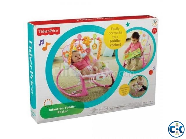 Fisher-Price Infant to Toddler Rocker | ClickBD large image 0