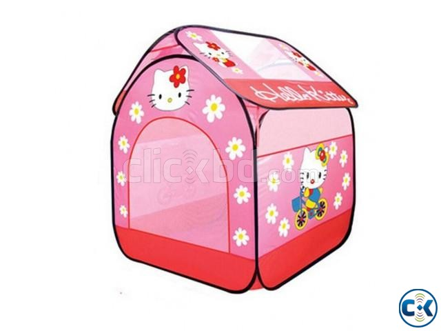 Hello Kitty Play tent for Children kids Mini Tent Game | ClickBD large image 0