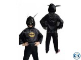 Batman Costume for Kids - Black -1pc