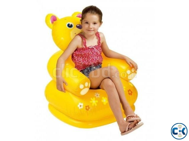 Buy Inflatable Teddy Bear Chair For Kids | ClickBD large image 0