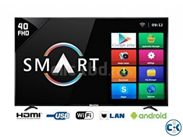 Intact 32 Sky View Smart Android TV | ClickBD large image 1