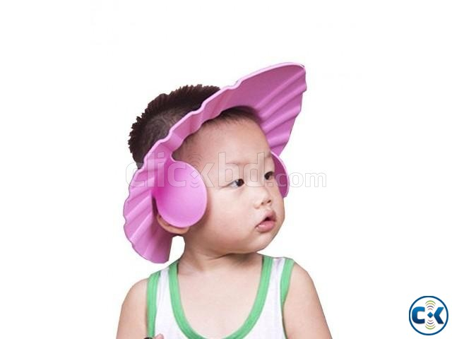 Baby Bath Shower Cap With Ear Protection -1pc | ClickBD large image 0