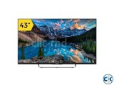 SONY BRAVIA KDL43W800C 43INCH SMART 3D ANDROID LED TV