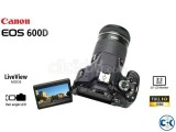 Canon EOS 600D 18MP 18-55mm Digital SLR Camera