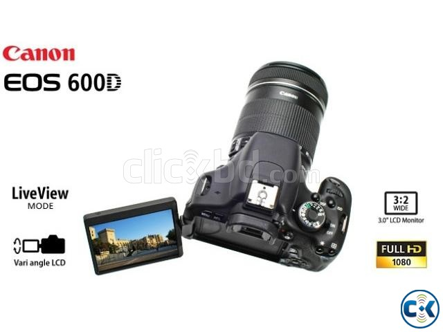Canon EOS 600D 18MP 18-55mm Digital SLR Camera | ClickBD large image 0