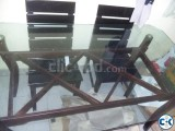 Otobi Dining Table with 4 chairs