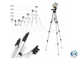 Tripod Camera Stand and Mobile Stand -Silver
