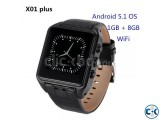 X01s Android Smart Mobile Watch 1GB RAM 8GB ROM intact Box