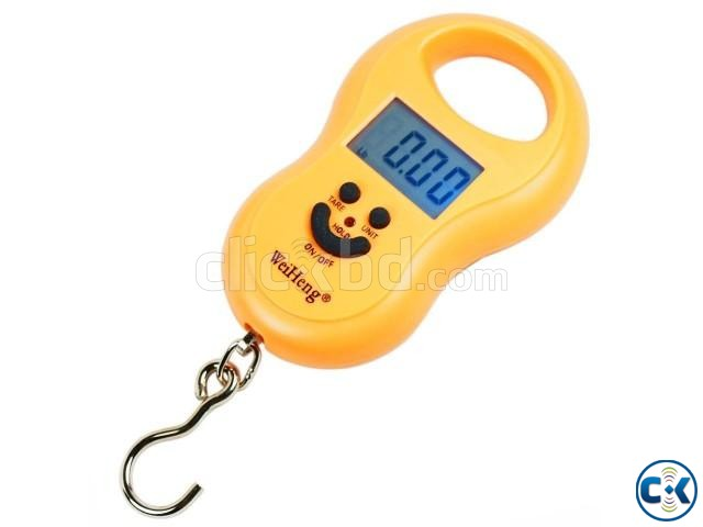 50KG Portable Digital Hanging Scale | ClickBD large image 0