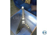 Flying V shape custom electric guitar