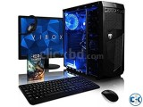 GAMING i3 7th GEN 3.70G 4GB 1TB 19 LED