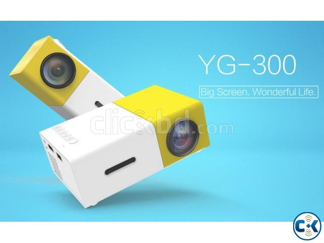 YG300 Mini Projector Portable Projector | ClickBD large image 0