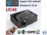 UNIC UC46 Mini WiFi Portable LED Projector