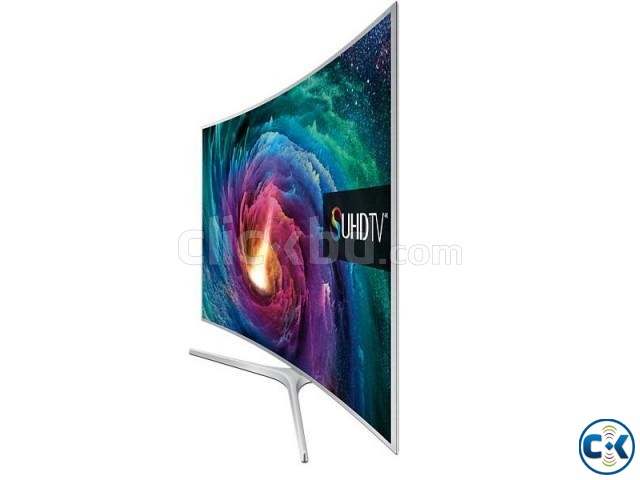 55 Class JS9000 Curved 4K SUHD Smart TV | ClickBD large image 1