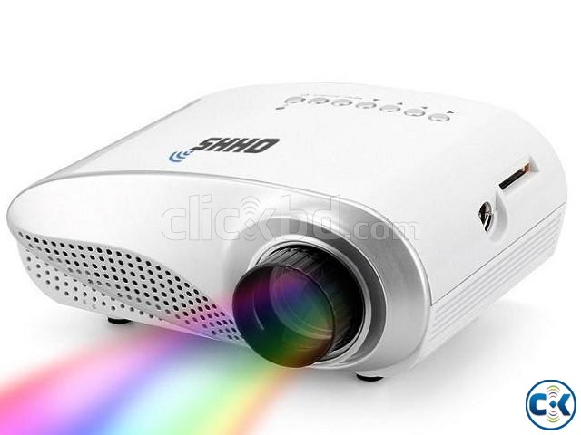 RD-802 LED HD Home Mini Projector | ClickBD large image 0