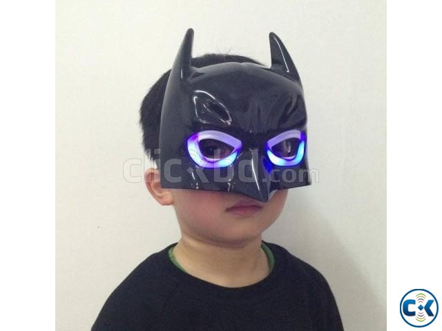 Batman Mask With LED - Black | ClickBD large image 0