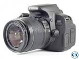 Canon EOS 650D Digital SLR Camera with 18-55 Lens