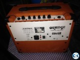 Ibanez guitar with Orange crush Amp