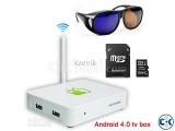 3D Android Box 3D GLASS Free2 8GB