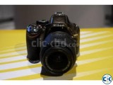 Nikon DSLR Camera D5300 24MP CMOS WiFi GPS USB 3.2 LCD